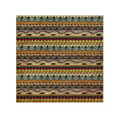 Aztec Pattern Small Satin Scarf (square) by BangZart