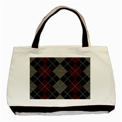 Wool Texture With Great Pattern Basic Tote Bag (two Sides)