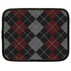 Wool Texture With Great Pattern Netbook Case (xxl)  by BangZart