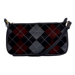 Wool Texture With Great Pattern Shoulder Clutch Bags by BangZart