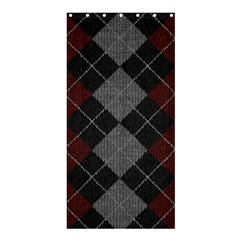 Wool Texture With Great Pattern Shower Curtain 36  X 72  (stall)  by BangZart