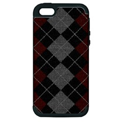 Wool Texture With Great Pattern Apple Iphone 5 Hardshell Case (pc+silicone) by BangZart