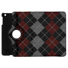 Wool Texture With Great Pattern Apple Ipad Mini Flip 360 Case by BangZart