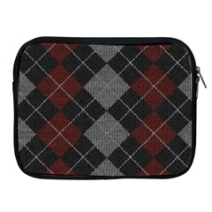 Wool Texture With Great Pattern Apple Ipad 2/3/4 Zipper Cases by BangZart