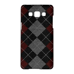 Wool Texture With Great Pattern Samsung Galaxy A5 Hardshell Case  by BangZart