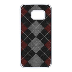 Wool Texture With Great Pattern Samsung Galaxy S7 White Seamless Case