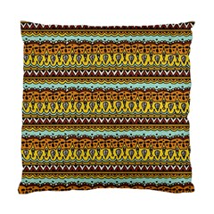 Bohemian Fabric Pattern Standard Cushion Case (one Side) by BangZart