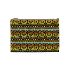 Bohemian Fabric Pattern Cosmetic Bag (medium)  by BangZart