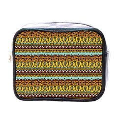 Bohemian Fabric Pattern Mini Toiletries Bags