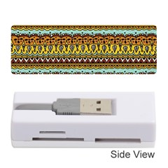Bohemian Fabric Pattern Memory Card Reader (stick)  by BangZart