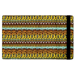 Bohemian Fabric Pattern Apple Ipad 3/4 Flip Case by BangZart