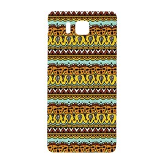Bohemian Fabric Pattern Samsung Galaxy Alpha Hardshell Back Case by BangZart