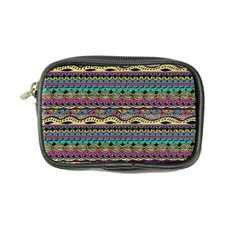 Aztec Pattern Cool Colors Coin Purse