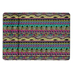 Aztec Pattern Cool Colors Samsung Galaxy Tab 10 1  P7500 Flip Case