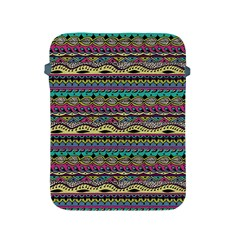 Aztec Pattern Cool Colors Apple Ipad 2/3/4 Protective Soft Cases by BangZart