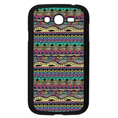 Aztec Pattern Cool Colors Samsung Galaxy Grand Duos I9082 Case (black)