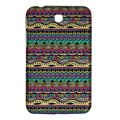 Aztec Pattern Cool Colors Samsung Galaxy Tab 3 (7 ) P3200 Hardshell Case  by BangZart