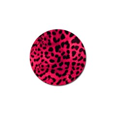 Leopard Skin Golf Ball Marker (4 Pack) by BangZart