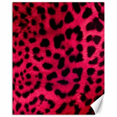 Leopard Skin Canvas 16  X 20   by BangZart