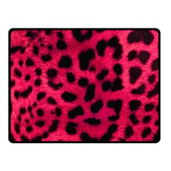 Leopard Skin Fleece Blanket (small) by BangZart