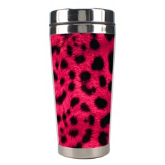 Leopard Skin Stainless Steel Travel Tumblers
