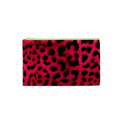 Leopard Skin Cosmetic Bag (xs) by BangZart