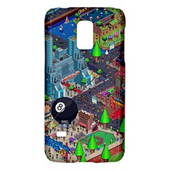 Pixel Art City Galaxy S5 Mini by BangZart
