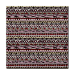 Aztec Pattern Patterns Tile Coasters by BangZart