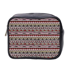 Aztec Pattern Patterns Mini Toiletries Bag 2 Side by BangZart