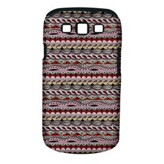 Aztec Pattern Patterns Samsung Galaxy S Iii Classic Hardshell Case (pc+silicone)