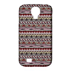 Aztec Pattern Patterns Samsung Galaxy S4 Classic Hardshell Case (pc+silicone) by BangZart