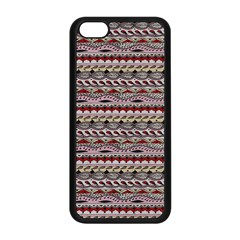 Aztec Pattern Patterns Apple Iphone 5c Seamless Case (black) by BangZart