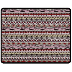 Aztec Pattern Patterns Double Sided Fleece Blanket (medium)  by BangZart