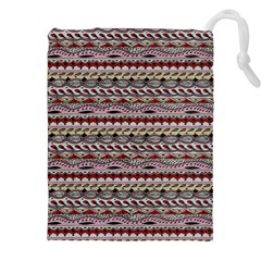 Aztec Pattern Patterns Drawstring Pouches (xxl) by BangZart
