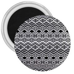 Aztec Design  Pattern 3  Magnets by BangZart