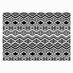 Aztec Design  Pattern Large Glasses Cloth (2 Side) by BangZart