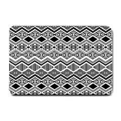 Aztec Design  Pattern Small Doormat  by BangZart