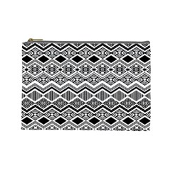 Aztec Design  Pattern Cosmetic Bag (large)  by BangZart