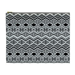 Aztec Design  Pattern Cosmetic Bag (xl) by BangZart