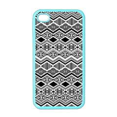 Aztec Design  Pattern Apple Iphone 4 Case (color) by BangZart