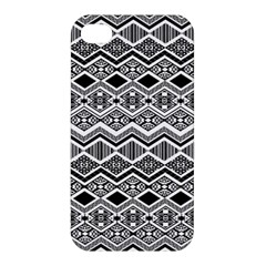 Aztec Design  Pattern Apple Iphone 4/4s Premium Hardshell Case by BangZart