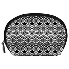 Aztec Design  Pattern Accessory Pouches (large)  by BangZart