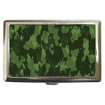 Camouflage Green Army Texture Cigarette Money Cases Front