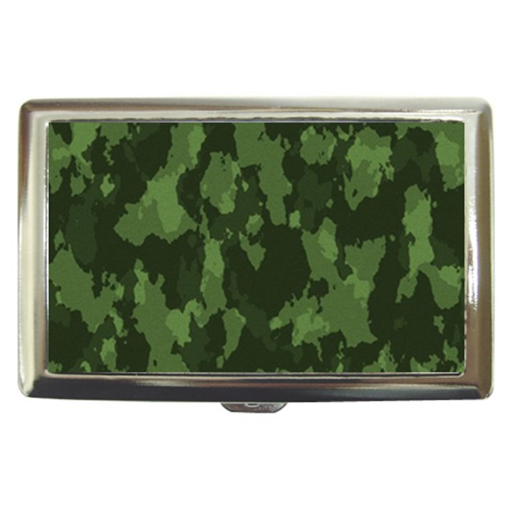 Camouflage Green Army Texture Cigarette Money Cases