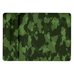 Camouflage Green Army Texture Samsung Galaxy Tab 10 1  P7500 Flip Case by BangZart