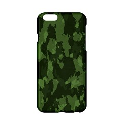 Camouflage Green Army Texture Apple Iphone 6/6s Hardshell Case by BangZart