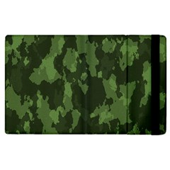 Camouflage Green Army Texture Apple Ipad Pro 9 7   Flip Case