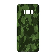 Camouflage Green Army Texture Samsung Galaxy S8 Hardshell Case
