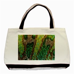 Chameleon Skin Texture Basic Tote Bag (two Sides) by BangZart