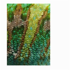 Chameleon Skin Texture Large Garden Flag (two Sides) by BangZart